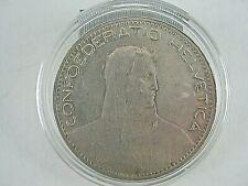 1923 B Swiss 5 Francs
