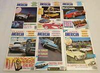 Classic American Car Magazine 1991 Complete Set Issue 10 11 12 13 14 15 Full Yea