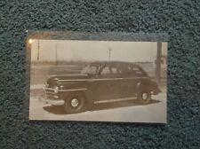 1946 Plymouth Postcard