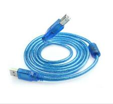 Pro 1.5M USB A to B Male M/M Cable Wire For HP Canon Dell Printer Scanner