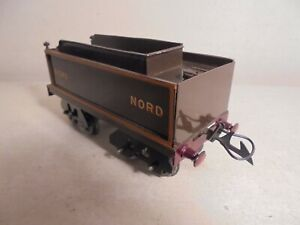 """REPLICA Hornby Series""""O""""- 8wheel Tender Brown for NORD 4-4-2 Loco-xcelnt/unboxd"""