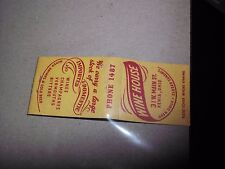 Rare Vintage Matches Xenia Ohio wine house imported beer 4 digit phone number