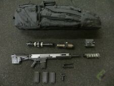 1/6 Easy & Simple Black Operation Field Agent Langley Mk20 Sniper Rifle Set