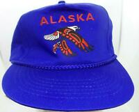 Alaska - Native American Eagle Blue NEW Trucker Cap Hat Mesh Snapback