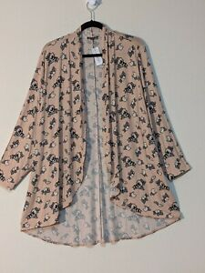 Lane Bryant Drape-Front Cardigan Overpiece NWT size 18/20 was $49.95
