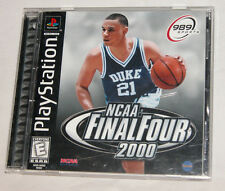 NCAA Final Four 2000 Sony PlayStation 1, 1999, E - Everyone Free Shipping U.S.A.