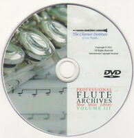 Professional FLUTE SHEET MUSIC Archive - Volume 3 - DVD PDF
