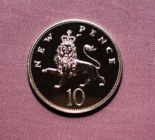 1972 ROYAL MINT PROOF TEN PENCE COIN - Scarce Issue Fewer than Kew Gardens 50p