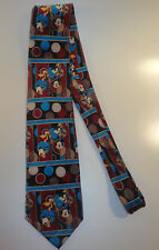 Disney MICKEY UNLIMITED by BALANCE INC Novelty NECK TIE Mickey Mouse GOOFY Pluto