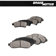 Front And Rear Ceramic Brake Pads Set For 2005 - 2012 Nissan Pathfinder
