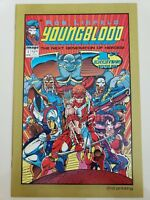 YOUNGBLOOD #1 (1992) IMAGE COMICS ROB LIEFELD! MOVIE! 2ND PRINT GOLD VARIANT HTF