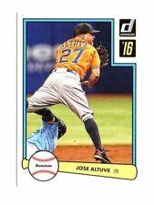 Jose Altuve 2016 Panini Donruss, 1982 Design, Baseball Card !!