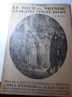 JULES VERNE-A. D'ENNERY : LE TOUR DU MONDE EN 80 JOURS ( THÉÂTRE ) (vp01)