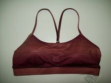 Lululemon Flow Y Sports Bra IV Sunset Ombre Size 6 New With Tag FREE SHIP