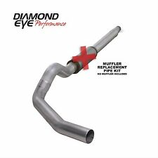 DIAMOND EYE Exhaust System Cat-Back Single Steel for Ford 7.3L 94-1997 K5316A-RP
