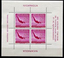 Nicaragua 1949 Turmspringen Schwimmen Sport Block 23 Ungebraucht Mint