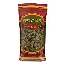We Got Nuts Pumpkin Seeds- Pepitas (Raw) (No Shell) (2 Pounds)
