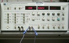 HP 4947A Telephone Line Tester WORKING! DTMF Dialer, Noise Generator 120dB Atten