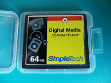 SimpleTech CompactFlash, CF-Card, CF.-Karte, 64 MB., + neue Box, Nr. 307a