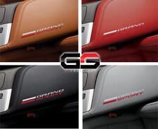 C7 Corvette Grand Sport Leather Console Lid W/ Grand Sport Logo Pick a Color