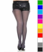 New Music Legs 747Q Plus Size Opaque Tights Pantyhose