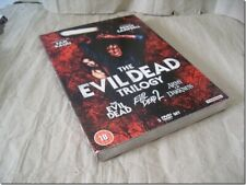 EVIL DEAD TRILOGY - BRUCE CAMPBELL with SLIPCASE dvd UK RELEASE NEW FACTORY SEAL