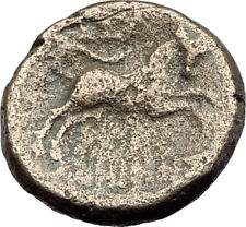 THESSALONICA in Macedonia 1stCenBC Authentic Ancient Greek Coin ZEUS BULL i63803