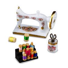 Reutter Porzellan Nähmaschine Porzellannähmaschine Puppenstube Dollhouse 1:12