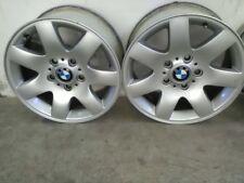 4 Cerchi In Lega BMW 320 7J x 16 Usati Per Gomme Invernali
