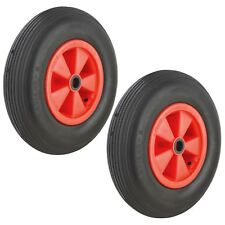 Launch Trolley Wheels Puncture Proof Cellular Foam Sailing Dinghy Boat x 2 (Pai