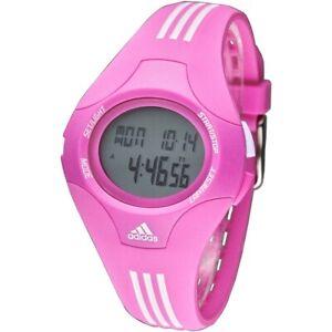 Adidas Performance Furano ADP6064 Pink Silicone Plastic Dial Sport Digital Watch
