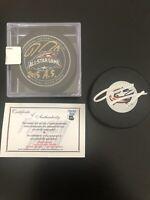 Set Of 2 Ryan Johansen Autographed Pucks (NHL AllStar-Authenticated)Blue Jackets