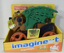 2009 Fisher Price Imaginext Dragon Wagon Ages 3-8 Brand New