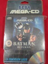 BATMAN RETURNS MEGA CD BATMAN RETURNS SEGA MEGA CD