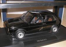 VW Golf 1 GTI schwarz 1976 in 1:18 von Norev