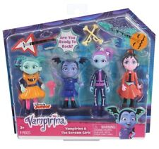 Disney Junior Vampirina & The Scream Girls 9 piece Play Set Dolls NIP