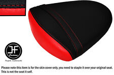STYLE 2 BLACK RED VINYL CUSTOM FOR SUZUKI GSXR 1000 K7 K8 07-08 REAR SEAT COVER