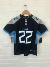 Tennessee Titans Nike Kids NFL Home Game Jersey - 14-16 Years - Henry 22 - New