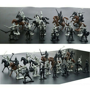 Figures Knights Figure Models Soldier Model Toy Soldier Toy Medieval Knights