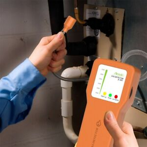Portable Gas Leak Detector Sniffer warning Alarm Sensitive Adjustable LCD factor