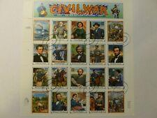 US #2975 Postal Cancelled Sheet 1995 32 cent Civil War