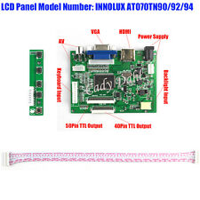 "HDMI VGA 2AV LCD Controller Board for 8"" HE080IA 01D HJ080IA 01E 1024X768 LCD"