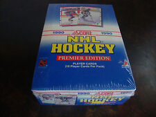 1990-91 Score Hockey Box---American---36 Packs---Brodeur RC, Lindros RC, Jagr RC