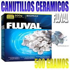 CANUTILLOS CERAMICOS PARA FILTROS ACUARIO BIOMAX DE FLUVAL FILTRACION BIOLOGICA
