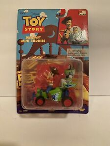 Toy Story Collectible Buzz Woody RC Diecast Mini Buddies 1995 NEW Sealed!