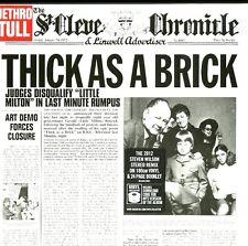 JETHRO TULL THICK AS A BRICK (STEVEN WILSON MIX) VINILE LP 180 GRAMMI+MP3