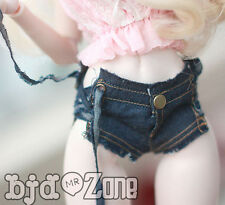 New 1/3 1/4 BJD DOLL  MSD LUTS DOLLFIE Clothes Bind Grinding MAO Cowboy Shorts