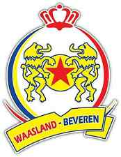 "Waasland-Beveren FC Belgium Football Soccer Car Bumper Sticker Decal 4""X5"""