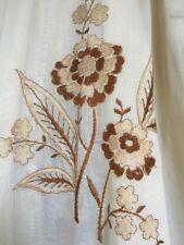Gardine, Qualität Maßgef. Baumwollgewebe mit Seide  2,45 H x 2,67 B