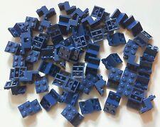 60 ORIGINALE LEGO TECHNIC parte 6132157 Brick W. Piastra 2x3x1 1/3 BLU SCURO